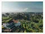 Villa Akira di bukit dengan view Gunung Pangrango
