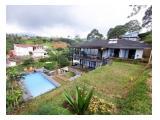 Sewa Villa 6 Kamar Minimalis Modern dan Bagus di Puncak Cisarua Bogor - Private Pool (Kolam Renang Pribadi) + Free Internet Wifi - Villa Zalisni