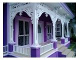 villa di sewakan di puncak 4 kamar tidur tipe notingham