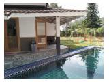 Sewa Villa Murah di Puncak ,Kolam Renang Pribadi, Karaoke, Halaman Bermain, 2jt