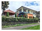 Disewakan Villa Orange Istana Bunga, Lembang - Bandung 6BR Fully Furnished