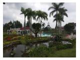 sewa villa di puncak private pool