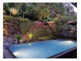 Disewakan Harian Villa Amethyst 16 Resort Dago Pakar Bandung - 5 Kamar, Private Pooll
