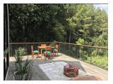 Balkon villa dg view pepohonan yg cantik