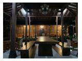 Disewakan Villa Menur di Boyong Jogjakarta - Dengan Kolam Renang