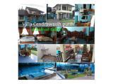 Villa cendrawasih putih kapasitas 30 orang
