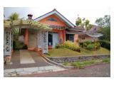 Villa Disewakan di Kota Bunga Puncak Tipe Melati 2+1 Kamar Tidur