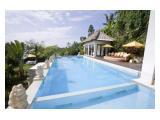 swimming pool dengan luas 15meter x 7meter
