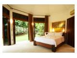 Kamar tidur eksklusif yang nyaman dan indah