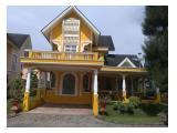 Disewakan Villa di Puncak Cipanas Kota Bunga, Bogor dengan Fasilitas Lengkap