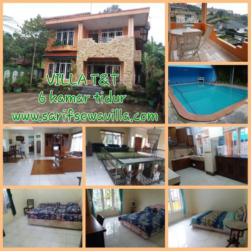 sewa villa dengan kolam renang pribadi dan harga relatif