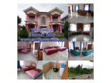 Villa Rinjani 7 kamar tidur, villa puncak resort
