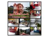 Villa kota bunga puncak, 4 kamar tidur 3 kamar mandi