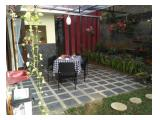 Ruang Makan menyatu dengan taman