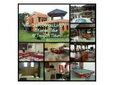 Villa bukit danau lot A, kapasitas 60 orang